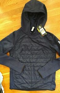 NWT Under Armour Women's Storm Swacket Hoodie Navy SMALL S