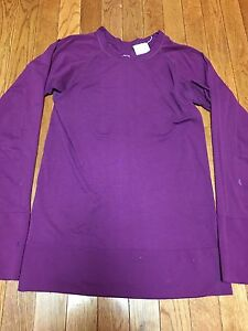 Women's Nike Fit Dry Shirt Size Small (46) Long Sleeve Running