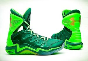 Rare New Boxed Under Armour charge BB St Patrick's day PE Shoes Stephen Curry