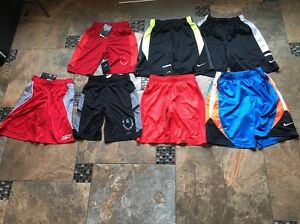 Lot Of Boys(Nike & Under Armour.....lots NWT)Shorts-size Small 8-10