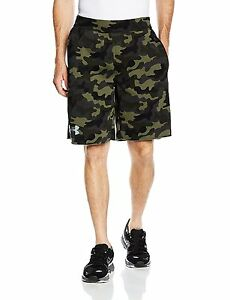 Under Armour Rival Cotton Novelty Short - Mens Rough  Steel Small