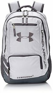 Storm Hustle II Backpack Under Armour White Graphite One Size Laptop Sleeve New