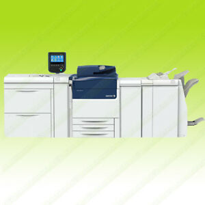 Xerox Versant 80 Press Color Commercial Laser Printer Finisher with Fiery 80 PPM