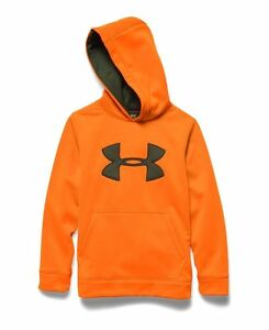 Under Armour Storm Caliber Youth Hoodie Sweatshirt Hunting Hike Fitness 1249748