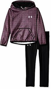Under Armour Girls' Active Hoodie and Legging Set - Choose SZColor