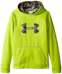 Under Armour Storm Caliber Youth Hoodie Sweatshirt Hunting Hike Fitness 1265756
