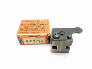 Ideal Single Cavity Bullet Mold 255gr 45 Colt SWCFB with box Stk#15