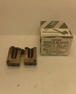 Lyman bullet mould mold blocks #457483 378gr. GC. used with original box