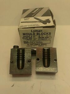 Lyman bullet casting mould mold block set #457406 475gr. GC rifle bullet