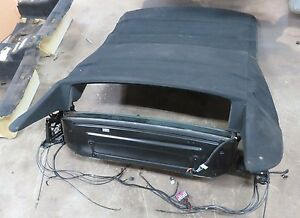 2008-2010 BMW 650i LCI E64 OEM CONVERTIBLE ROOF FOLDING COVER SOFT TOP ASSEMBLY