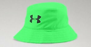 $28 NEW Youth Boys Under Armour Golf Bucket Hat Booney Green