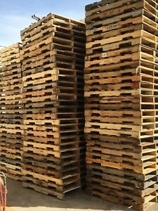 Used Recycled Wood B Pallets 48quot; x 40quot; 4 Way Pallets $6.75 EA PICK UP ONLY $6.75