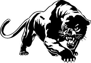 Black Panther Wild Cat Wall Car Truck Window Vinyl Sticker Decal 6