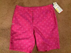 WOMENS SM UNDER ARMOUR HEATGEAR UA GOLF FITTED WATER RESISTANT SHORTS. NWT $80