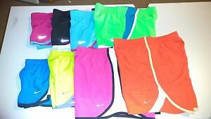 Nike GIRLS Dri FIT All Sports TEMPO Running Shorts Size XS - XL Your Choice