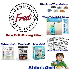 Genuine Fred Products! Great Gifts! Putting Smiles on Faces! Buy 2