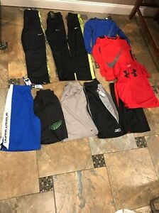 Lot Of boys Clothesshorts(Nike Tek Gear Under Armour)...lots NWT-size X Large