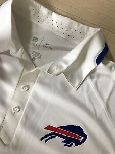 NFL Buffalo Bills On-Field Dry-Fit Polo Shirt Nike Men's XL NEW WTags