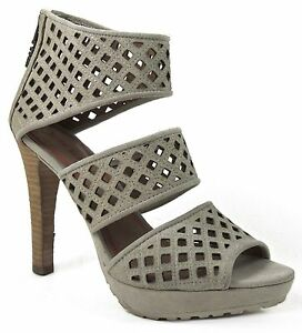 Miss Sixty Women's Tiana Platform Sandals Ice Size Eu 36.5; Us 6 6.5 M