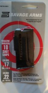 Savage Arms Model 93 Series 10 Round Magazine 17hmr  22mag 10rd Mag 90010 - NEW