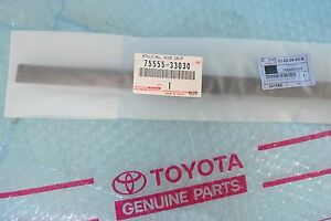 TOYOTA OEM 07-11 Camry Roof-Drip Molding Right 7555506030 / 75555-33030