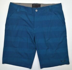 Oakley 2601 Athletic Casual Gym Mens Scotts Golf Shorts 12 Sports Moroccan Blue
