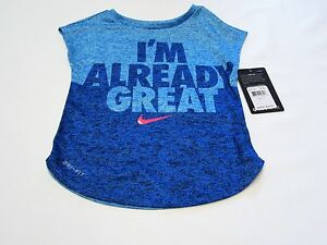 Nike baby girls clothes top t-shirt tee shirt size 2t  sport toddler infant