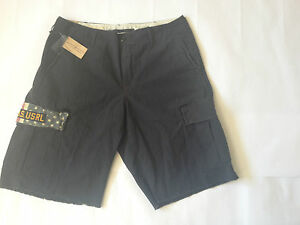 £80 Ralph Lauren Shorts USA flag navy blue 28 29 33 34 combat casual Golf Golfer