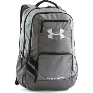 Under Armour Storm Hustle Ii Mens Rucksack - Graphite Silver One Size