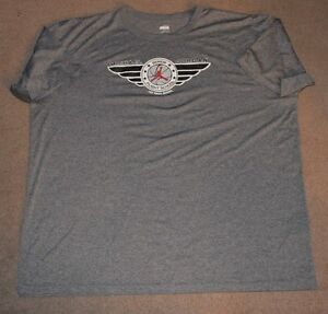 Michael Jordan Senior Flight School Nike Fit Dry Work Out Shirt 3XL Las Vegas