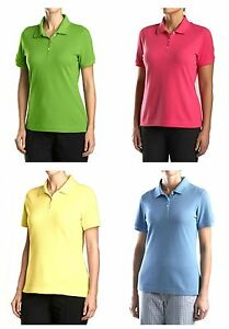 CUTTER & BUCK Womens Ladies Golf ACE Polo Shirt NWT > Many Colors Options