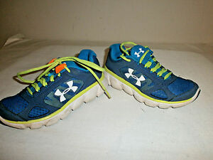 UNDER ARMOUR Youth Boys Sneakers  size 1 youth