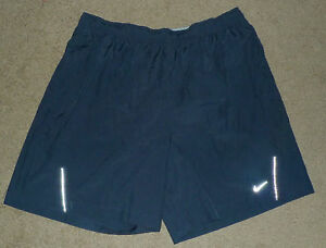 Mens Extra Large XL Nike Essential Reflective Athletic Running Lined Sport Short