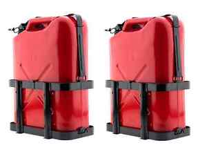 Smittybilt Jerry Gas Can Holder 2798 Universal Fit Set of Two