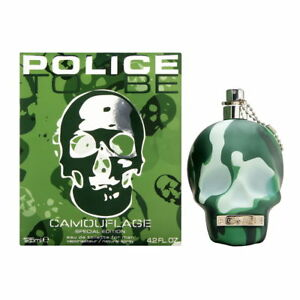 Police To Be Camouflage by Parfums Police for Men 4.2 oz EDT Spray Brand New