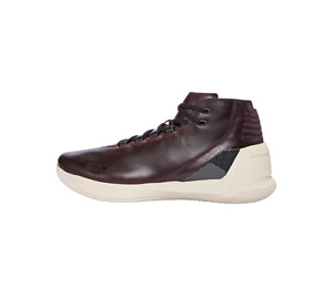Under Armour UA Curry 3 LUX Oxblood Leather Basketball Shoe 1299661 945