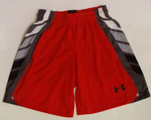 NWT Under Armour Boys Athletic Loose Shorts Size Extra Small