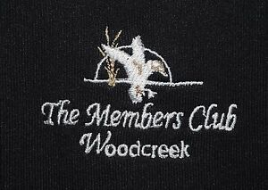Men's The Members Club at Woodcreek Golf Under Armour Short Sleeve Polo Shirt XL