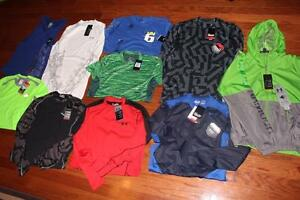 LOT MENS UNDER ARMOUR SHIRTS JACKET NIKE PRO COMBAT KING JAMES NORTH FACE MEDIUM