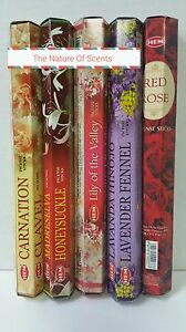 Hem Incense Stick 100 Sticks Incense Wicca Mixed Flowers #3 Scents Free Shipping