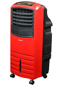 Portable Evaporative Cooler NewAir Red 1000 CFM 3-Speed 300 sq ft Remote Swamp