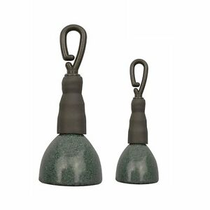 15g30g Camo Green Coated Back Lead Sinker Weight for carp fishing Secure Clip