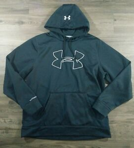 Under Armour Mens Hoodie Storm Technical Loose Pullover Sweatshirt XL Top A18.2
