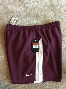 NWT Nike Dri-fit Running Shorts Men' Size Large Fitness Training With Liner