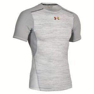UNDER ARMOUR Heatgear CoolSwitch ArmourVent Compression Training Shirt Mens L