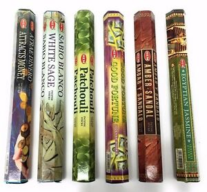 Hem Incense Stick Set 6 x 20 = 120 Sticks Wicca Mixed Scents # 8 Free Shipping