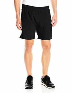 Calvin Klein Men's Performance Engineered Perforated Woven Run Short W Liner