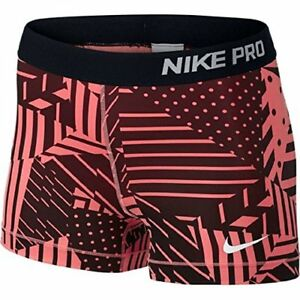 Women's Pro Core Patchwork 3in Compression Shorts Womens Running New