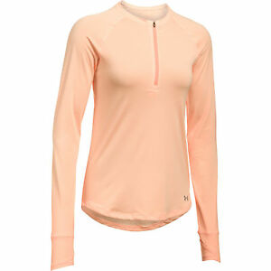 Under Armour Women's UA Fly-By 12 Zip Long Sleeve Shirt 1290902-164