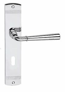 Door fittings handle set LADY S Chrome polished BB - PZ - WC